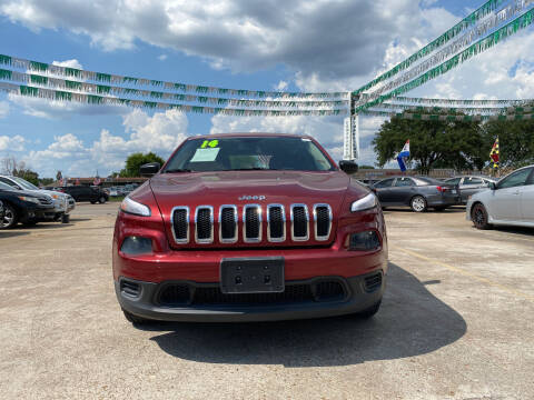 2014 Jeep Cherokee for sale at SOUTHWAY MOTORS in Houston TX