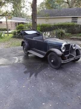 1929 Nash AJax