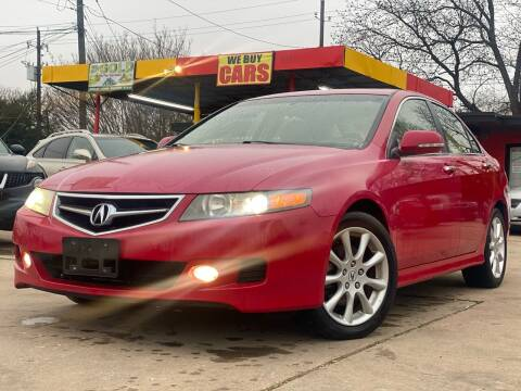 2006 Acura TSX for sale at Cash Car Outlet in Mckinney TX