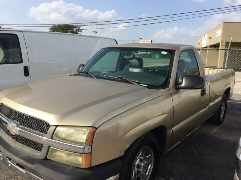 2004 Chevrolet Silverado 1500 for sale at BSA Used Cars in Pasadena TX