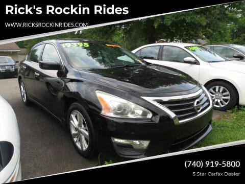 2013 Nissan Altima for sale at Rick's Rockin Rides in Reynoldsburg OH