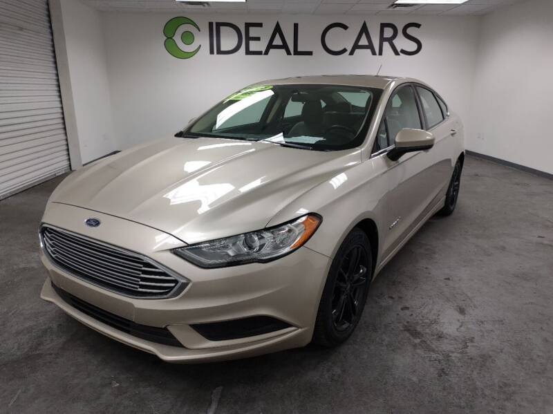 2018 Ford Fusion Hybrid for sale at Ideal Cars East Mesa in Mesa AZ
