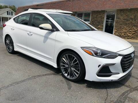 2018 Hyundai Elantra for sale at Approved Motors in Dillonvale OH