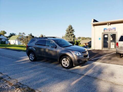 2010 Chevrolet Equinox for sale at Hackler & Son Used Cars in Red Lion PA