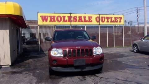 2007 Jeep Grand Cherokee for sale at LONG BROTHERS CAR COMPANY in Cleveland OH