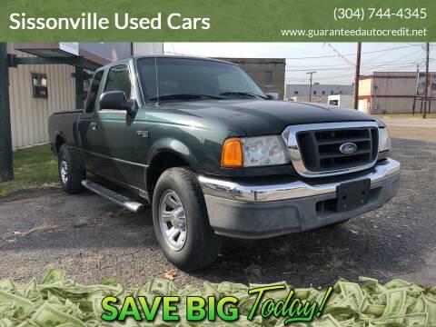 2004 Ford Ranger for sale at Sissonville Used Cars in Charleston WV