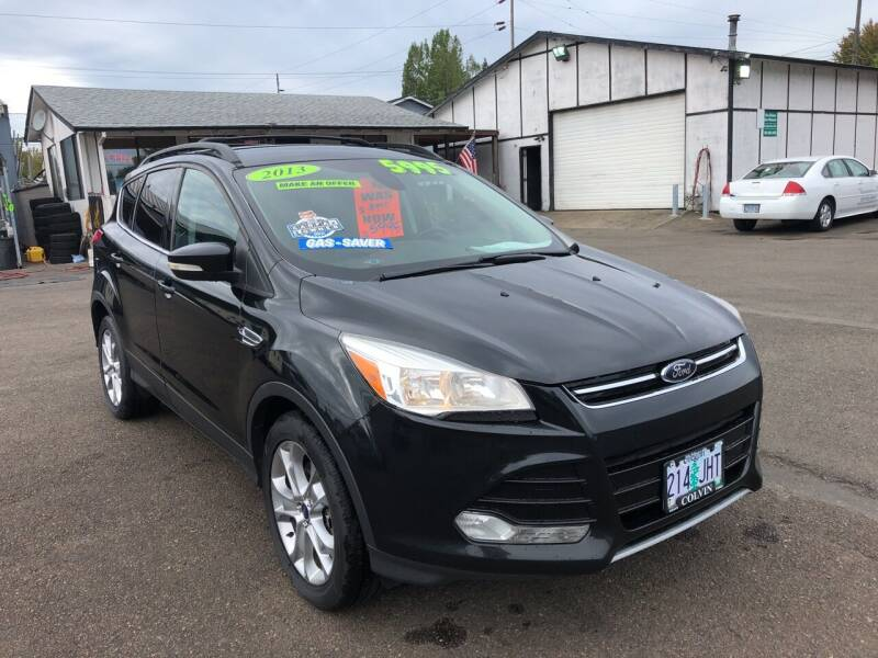 2013 Ford Escape for sale at Freeborn Motors in Lafayette, OR