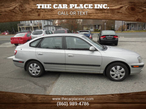 2006 Hyundai Elantra for sale at THE CAR PLACE INC. in Somersville CT