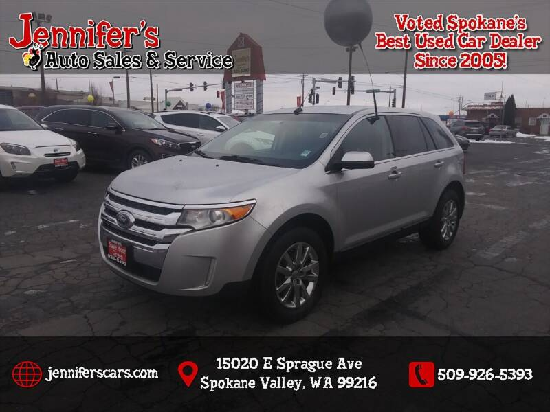 2014 Ford Edge for sale at Jennifer's Auto Sales in Spokane Valley WA