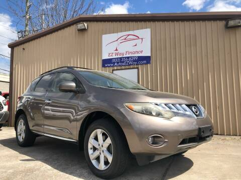 2009 Nissan Murano for sale at Autos EZ Way in Houston TX