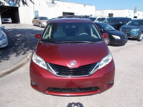 2011 Toyota Sienna for sale at ACH AutoHaus in Dallas TX