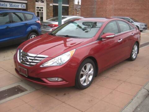 2013 Hyundai Sonata for sale at Theis Motor Company in Reading OH