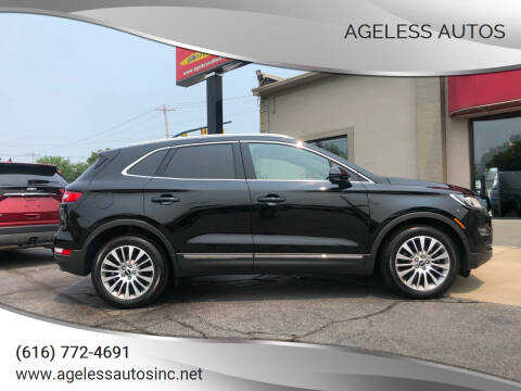 2017 Lincoln MKC for sale at Ageless Autos in Zeeland MI