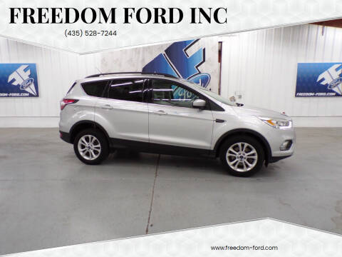 2017 Ford Escape for sale at Freedom Ford Inc in Gunnison UT