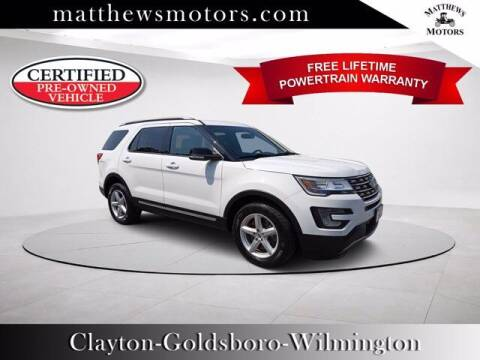 2017 Ford Explorer for sale at Auto Finance of Raleigh in Raleigh NC