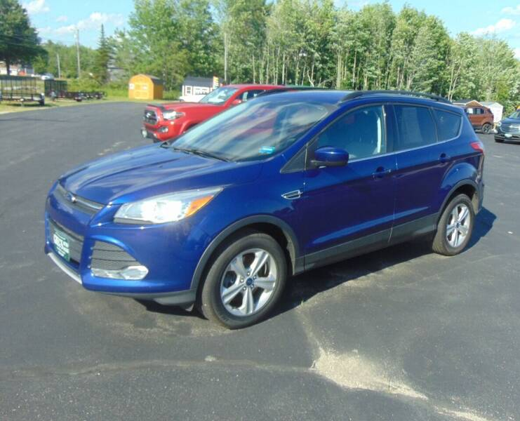 2014 Ford Escape for sale at Greg's Auto Sales in Searsport ME