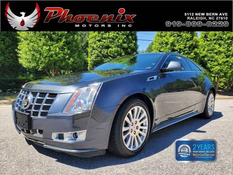 2012 Cadillac CTS for sale at Phoenix Motors Inc in Raleigh NC