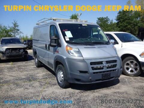 2016 RAM ProMaster Cargo for sale at Turpin Dodge Chrysler Jeep Ram in Dubuque IA