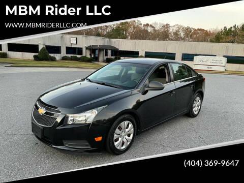 2012 Chevrolet Cruze for sale at MBM Rider LLC in Alpharetta GA