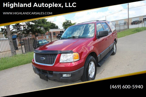 2004 Ford Expedition for sale at Highland Autoplex, LLC in Dallas TX