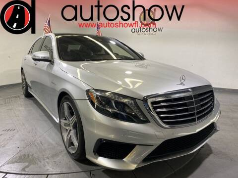 2015 Mercedes-Benz S-Class for sale at AUTOSHOW SALES & SERVICE in Plantation FL
