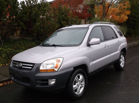 2007 Kia Sportage for sale at Eastside Motor Company in Kirkland WA