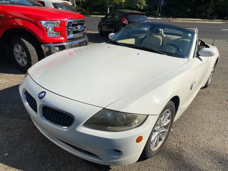 2005 BMW Z4 for sale at Exotic Motors in Redmond WA