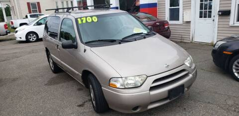 2001 Nissan Quest for sale at TC Auto Repair and Sales Inc in Abington MA