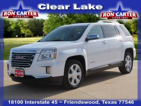 2016 GMC Terrain for sale at Ron Carter  Clear Lake Used Cars in Houston TX