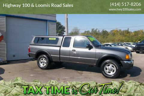 2004 Ford Ranger for sale at Highway 100 & Loomis Road Sales in Franklin WI