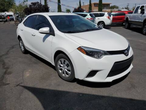 2016 Toyota Corolla for sale at DPM Motorcars in Albuquerque NM