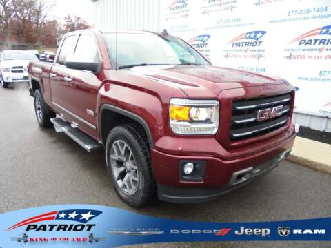 2015 GMC Sierra 1500 for sale at PATRIOT CHRYSLER DODGE JEEP RAM in Oakland MD