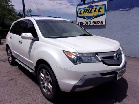 2009 Acura MDX for sale at Circle Auto Center in Colorado Springs CO