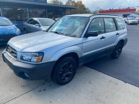 2004 Subaru Forester for sale at Wise Investments Auto Sales in Sellersburg IN