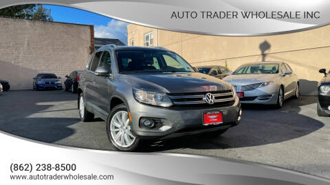 2015 Volkswagen Tiguan for sale at Auto Trader Wholesale Inc in Saddle Brook NJ