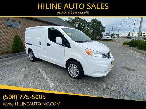2015 Nissan NV200 for sale at HILINE AUTO SALES in Hyannis MA