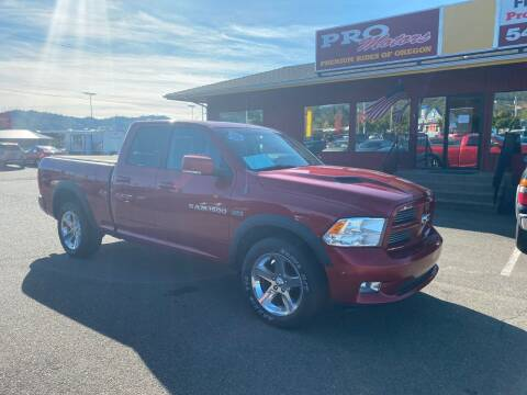 2012 RAM Ram Pickup 1500 for sale at Pro Motors in Roseburg OR