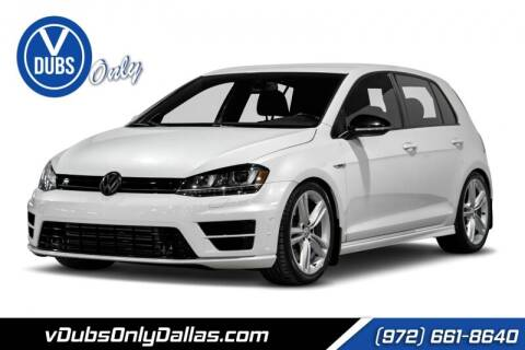 2016 Volkswagen Golf R for sale at VDUBS ONLY in Dallas TX