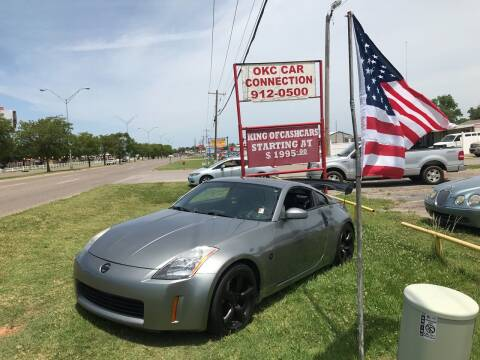 2005 Nissan 350Z for sale at OKC CAR CONNECTION in Oklahoma City OK
