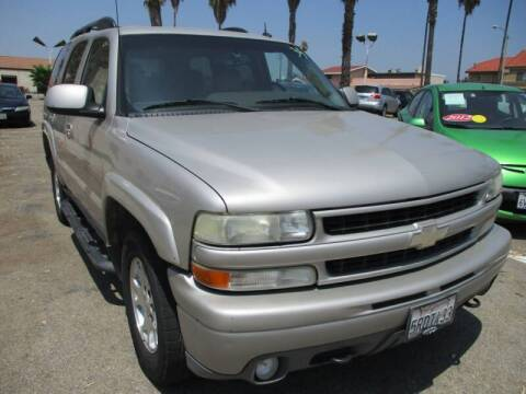2005 Chevrolet Tahoe for sale at F & A Car Sales Inc in Ontario CA