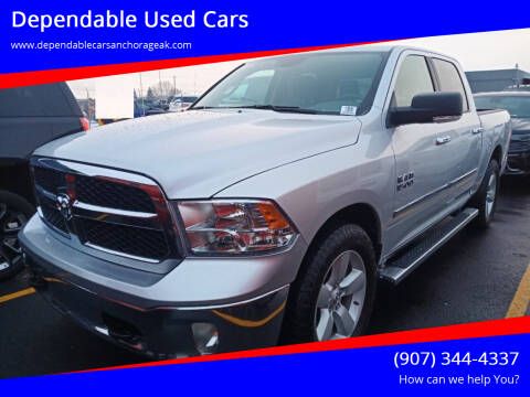 2017 RAM Ram Pickup 1500 for sale at Dependable Used Cars in Anchorage AK