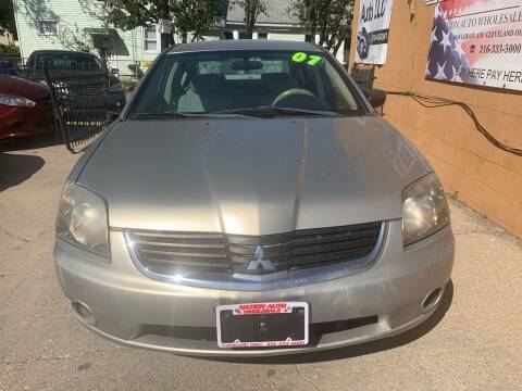 2007 Mitsubishi Galant for sale at Nation Auto Wholesale in Cleveland OH