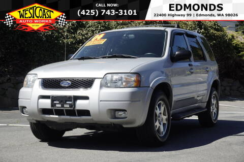 2004 Ford Escape for sale at West Coast Auto Works in Edmonds WA