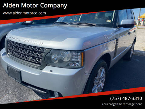 2011 Land Rover Range Rover for sale at Aiden Motor Company in Portsmouth VA