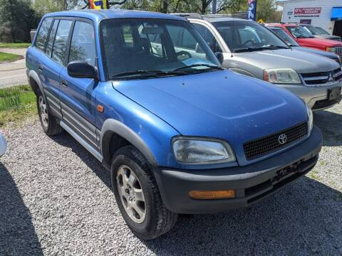 1996 Toyota RAV4 for sale at AUTO PROS SALES AND SERVICE in Belleville IL