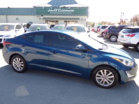 2014 Hyundai Elantra for sale at Jim O'Connor Select Auto in Oconomowoc WI