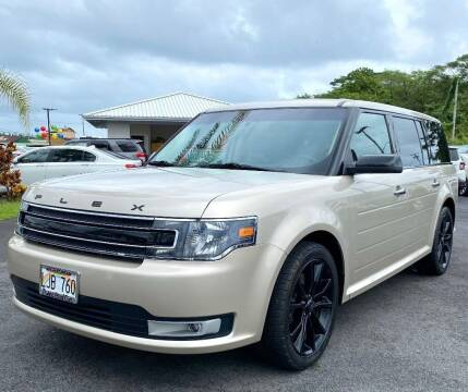 2018 Ford Flex for sale at PONO'S USED CARS in Hilo HI