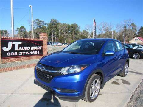 2018 Honda HR-V for sale at J T Auto Group in Sanford NC
