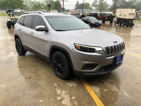 2019 Jeep Cherokee for sale at PITTMAN MOTOR CO in Lindale TX