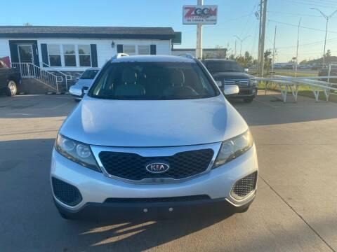 2011 Kia Sorento for sale at Zoom Auto Sales in Oklahoma City OK